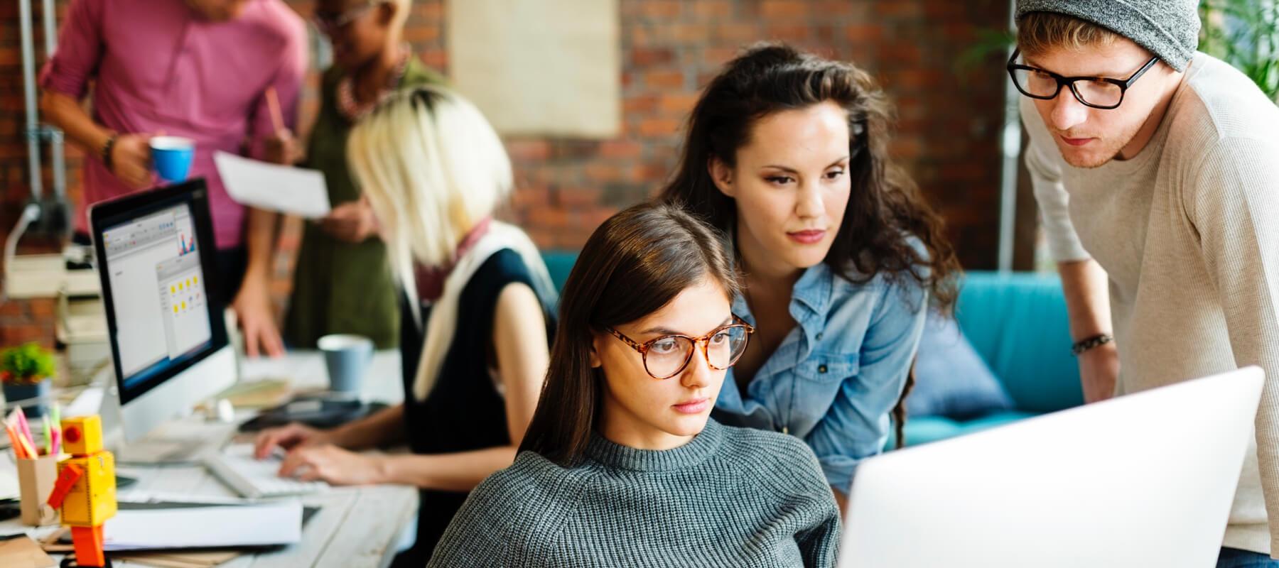 Women in office Image